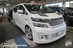 CUSTOM PARTY Vol.6 Port Messe Nagoya LEROY EVENT TOYOTA VELLFIRE