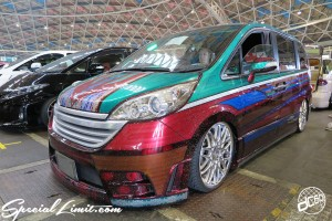 CUSTOM PARTY Vol.6 Port Messe Nagoya LEROY EVENT HONDA STEP WGN