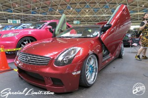CUSTOM PARTY Vol.6 Port Messe Nagoya LEROY EVENT Skyline G35 Coupe FORGIATO Original