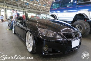 CUSTOM PARTY Vol.6 Port Messe Nagoya LEROY EVENT LEXUS IS-C
