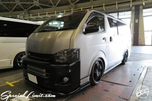 CUSTOM PARTY Vol.6 Port Messe Nagoya LEROY EVENT TOYOTA HIACE