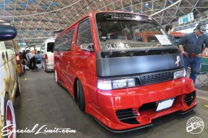 CUSTOM PARTY Vol.6 Port Messe Nagoya LEROY EVENT NISSAN CARAVAN
