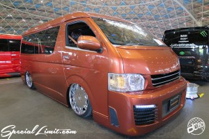 CUSTOM PARTY Vol.6 Port Messe Nagoya LEROY EVENT TOYOTA HIACE AIR RIDE