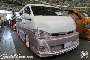 CUSTOM PARTY Vol.6 Port Messe Nagoya LEROY EVENT TOYOTA HIACE WIDE