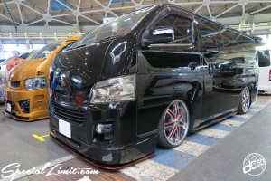 CUSTOM PARTY Vol.6 Port Messe Nagoya LEROY EVENT NISSAN CARAVAN NV350