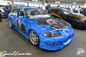 CUSTOM PARTY Vol.6 Port Messe Nagoya LEROY EVENT HONDA CIVIC FERIO