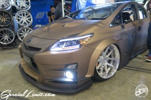 CUSTOM PARTY Vol.6 Port Messe Nagoya LEROY EVENT TOYOTA PRIUS Wide Body WORK Gnosis