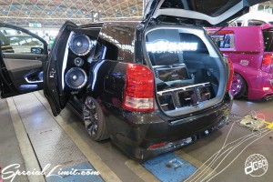 CUSTOM PARTY Vol.6 Port Messe Nagoya LEROY EVENT Pole Dance ICE KURO dc601 TOYOTA WISH Audio on U Factory