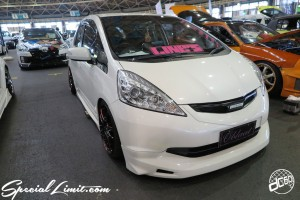 CUSTOM PARTY Vol.6 Port Messe Nagoya LEROY EVENT HONDA FIT MUGEN
