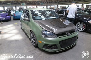 CUSTOM PARTY Vol.6 Port Messe Nagoya LEROY EVENT Volks Wagen Golf