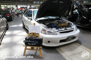 CUSTOM PARTY Vol.6 Port Messe Nagoya LEROY EVENT HONDA EK CIVIC ALPINE