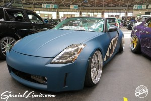 CUSTOM PARTY Vol.6 Port Messe Nagoya LEROY EVENT NISSAN Fairlady Z33 9010DESIGN Leather Exterior Interior Shark Mouth Paint
