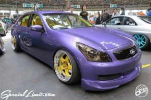 CUSTOM PARTY Vol.6 Port Messe Nagoya LEROY EVENT NISSAN Skyline V36 Sedan WORK MAO
