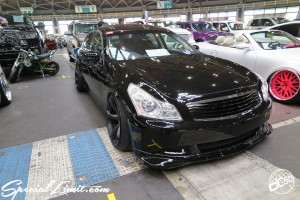 CUSTOM PARTY Vol.6 Port Messe Nagoya LEROY EVENT NISSAN Skyline V36 Stance