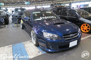 CUSTOM PARTY Vol.6 Port Messe Nagoya LEROY EVENT SUBARU LEGACY Touring Wagon