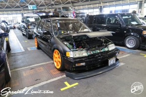 CUSTOM PARTY Vol.6 Port Messe Nagoya LEROY EVENT HONDA CIVIC Shatle