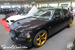 CUSTOM PARTY Vol.6 Port Messe Nagoya LEROY EVENT DODGE CHARGER SRT