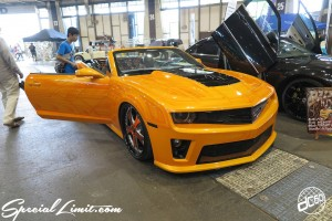 CUSTOM PARTY Vol.6 Port Messe Nagoya LEROY EVENT CHEVROLET CAMARO FORGIATO