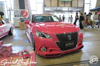 CUSTOM PARTY Vol.6 Port Messe Nagoya LEROY EVENT TOYOTA Pink Crown OEP222
