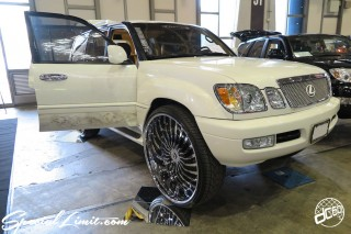 CUSTOM PARTY Vol.6 Port Messe Nagoya LEROY EVENT LEXUS LX FORGIATO