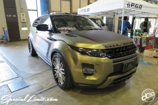 CUSTOM PARTY Vol.6 Port Messe Nagoya LEROY EVENT RANGE ROVER IVOQUE P.G.D