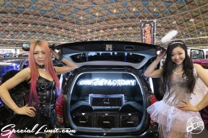 CUSTOM PARTY Vol.6 Port Messe Nagoya LEROY EVENT Pole Dance ICE KURO dc601 TOYOTA WISH on U Factory