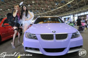 CUSTOM PARTY Vol.6 Port Messe Nagoya LEROY EVENT Pole Dance ICE KURO dc601 Purple Magic BMW E91 Angel Devil