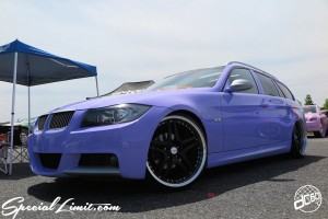 X-5 Cross Five Osaka Extreme Super Show 2014 dc601 Special Limit.com Purple Magic BMW E91 325i Touring TWS RSR M-Sport