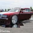 X-5 Cross Five Osaka Extreme Super Show 2014 USDM Special Limit.com NOKTURNAL CHRYSLER 300C Slammed AMANI FORGED