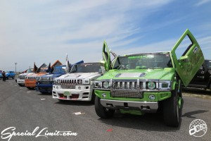X-5 Cross Five Osaka Extreme Super Show 2014 USDM Special Limit.com HUMMER H2 AJ Platinum