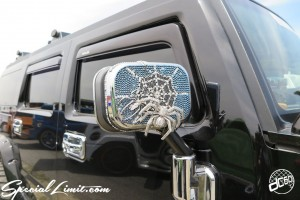 X-5 Cross Five Osaka Extreme Super Show 2014 USDM Special Limit.com Spider Mirror HUMMER H2