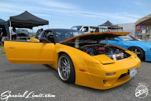 X-5 Cross Five Osaka Extreme Super Show 2014 USDM Special Limit.com NISSAN 180SX Wide Body