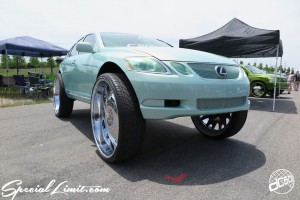 X-5 Cross Five Osaka Extreme Super Show 2014 USDM Special Limit.com MONSTER ENERGY NEXT Works LEXUS GS FORGIATO 32""