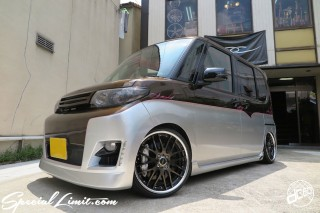 Sign Pinstripe draw art continental pinstriping dc601 special limit DAIHATSU Tanto Slammed Air Ride