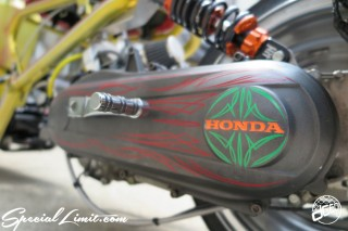 Sign Pinstripe draw art continental pinstriping dc601 special limit HONDA ZOOMER Custom Slammed