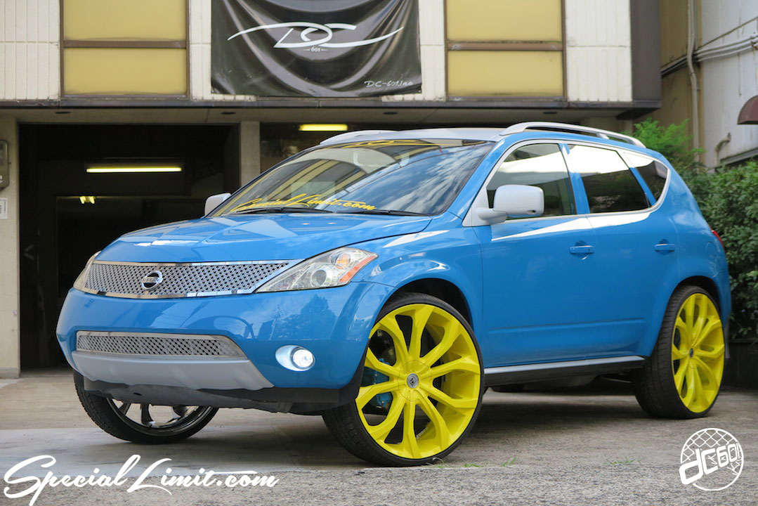 """NISSAN Z50 MURANO REBEL Blue LEXANI LUST 26"""" Lightning Yellow E&G Classic Grilles RS☆R Adjustable Coil Over Apple Silver FOCAL U-topia Be Speaker Wolfix Brake Cover USDM dc601 Custom Special Limit Pastel Bros"""