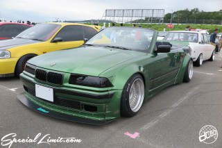 STANCENATION Japan G Edition 祭 Elvis Skender FUJI SPEEDWAY FISCO USDM JDM Slammed Custom Car Geibunsha ismart BMW E36 Cabriolet Wide Body Sarto Racing