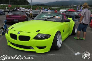 STANCENATION Japan G Edition 祭 ‎Elvis Skender FUJI SPEEDWAY FISCO USDM JDM Slammed Custom Car Geibunsha BMW E85 Z4 Wide Body J-Wheels TUNE's Flesh Yellow