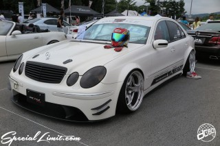STANCENATION Japan G Edition 祭 ‎Elvis Skender FUJI SPEEDWAY FISCO USDM JDM Slammed Custom Car Geibunsha Mercedes Benz E Class WORK