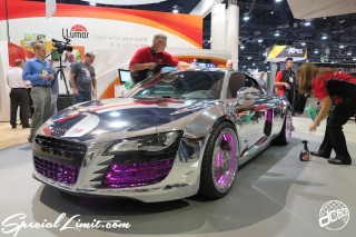 SEMA Show 2014 Las Vegas Convention Center dc601 Special Limit Audi R8 Chrome Wrapping
