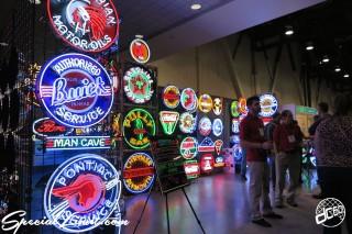 SEMA Show 2014 Las Vegas Convention Center dc601 Special Limit NEON Sign Shop
