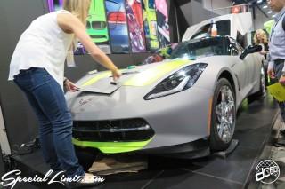 SEMA Show 2014 Las Vegas Convention Center dc601 Special Limit CHEVROLET Corvette Wrapping