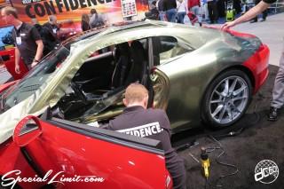 SEMA Show 2014 Las Vegas Convention Center dc601 Special Limit PORSCHE 911 Wrapping