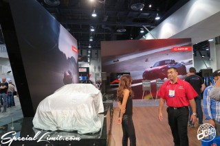 SEMA Show 2014 Las Vegas Convention Center dc601 Special Limit MAZDA Booth