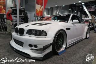 SEMA Show 2014 Las Vegas Convention Center dc601 Special Limit BMW E46 M3 VOLTEX Wide Body