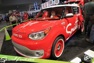 SEMA Show 2014 Las Vegas Convention Center dc601 Special Limit KIA ICE CREAM Smitten