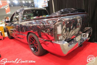 SEMA Show 2014 Las Vegas Convention Center dc601 Special Limit DODGE RAM Chrome Skull