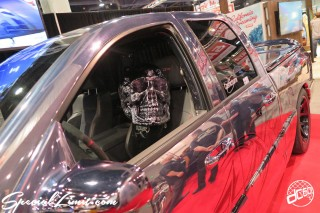 SEMA Show 2014 Las Vegas Convention Center dc601 Special Limit DODGE RAM Skull