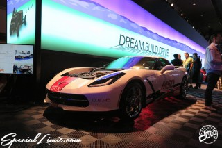 SEMA Show 2014 Las Vegas Convention Center dc601 Special Limit CHEVROLET CORVETTE C7 MSD