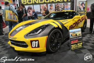 SEMA Show 2014 Las Vegas Convention Center dc601 Special Limit CHEVROLET CORVETTE BONDURANT